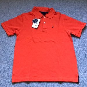 Orange Nautica Polo Tee shirt